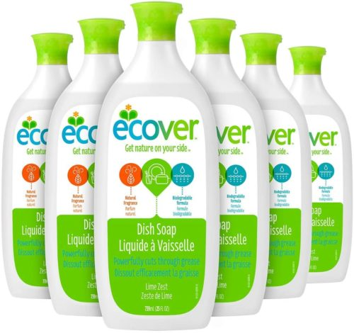 9. Ecover Dish Soap Lime Zest