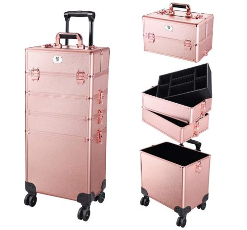 Byootique Brillialt Rolling Makeup Case, Best Professional Makeup Kits
