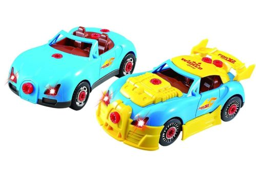 Think Gizmos Kids Girls and Boys Cars Toys Range Set with Lights