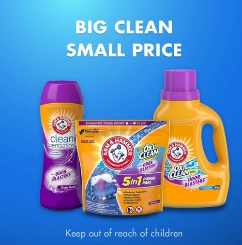 10.10. Arm & Hammer OxiClean Laundry Detergent