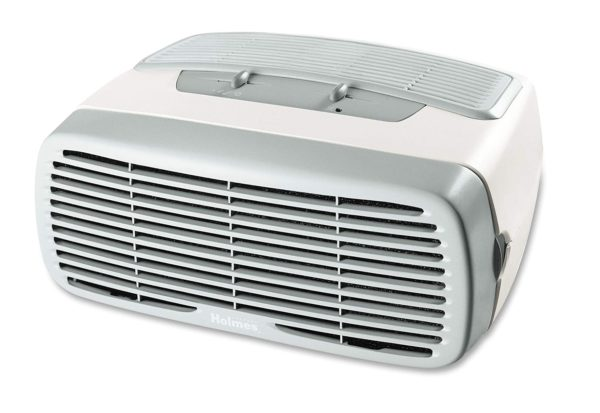 2. Holmes Small Room 3-Speed HEPA Air Purifier with Optional Ionizer