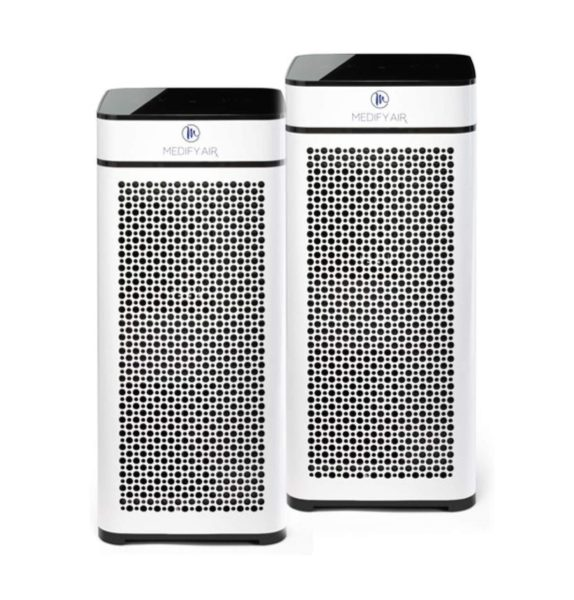 6. Medify MA-40W2 V2.0 Medical Grade Filtration H13 True HEPA for 840 Sq. Ft. Air Purifier