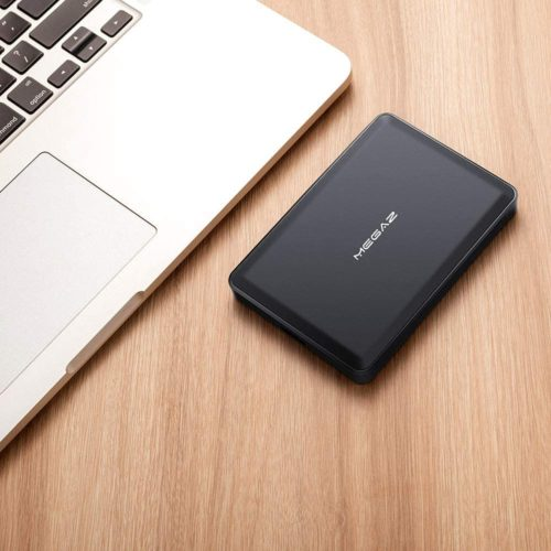 13. MegaZ Slim 1TB HDD Portable External Hard Drive