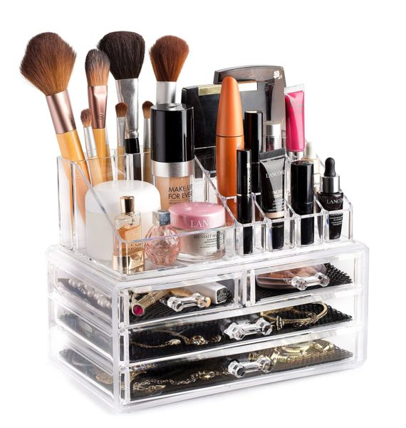 5. Clear Cosmetic Storage Organizer - Easily Organize Your Cosmetics