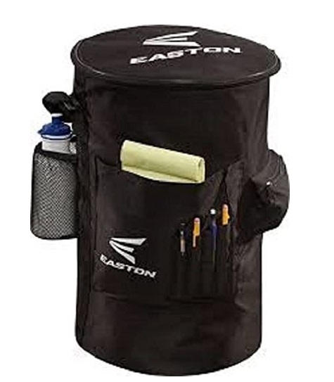 5. EASTON COACH'S Slip Over Bucket Organizer Cover 2020 Black Padded Seat Top
