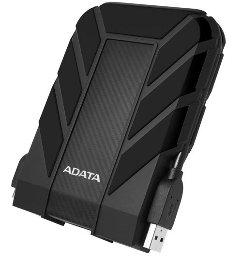 7. ADATA Pro 2TB External Hard Drive Rain, Shock, and Dust Proof
