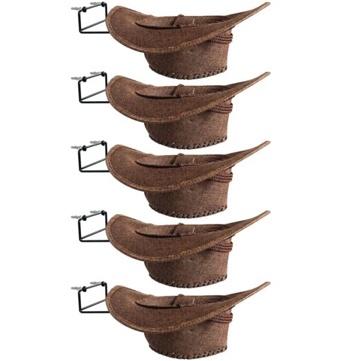 11. YYST Cowboy Hat Organizer - Hat Storage Holder