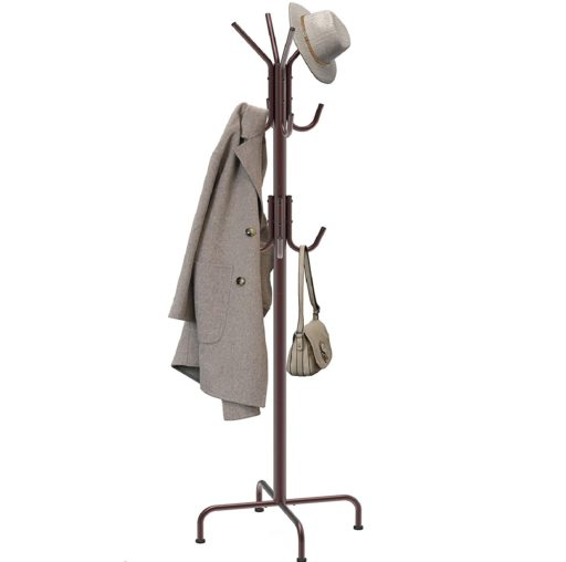 3. Simple Houseware Standing Hat Organizer Rack