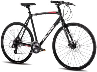 5. Hiland Road Specialized Hybrid Bikes Under 500 with Disc Brake