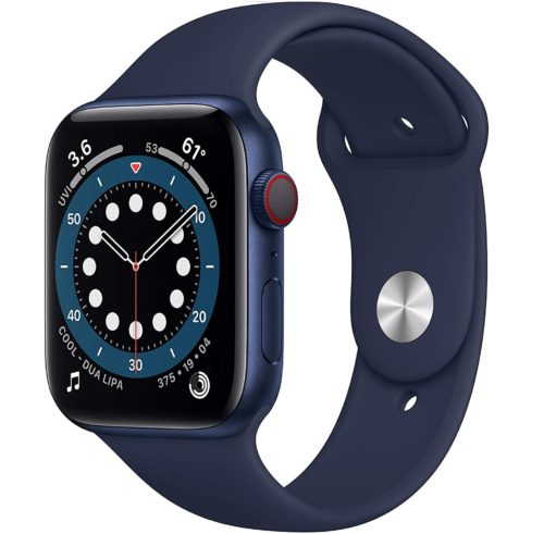 1. Apple Smart Watch Cellular Series 6 with Blue Aluminum Case