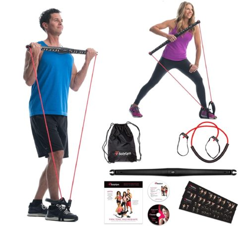 1. Bodygym Core System Portable Exerciser Bar and All in One Kit