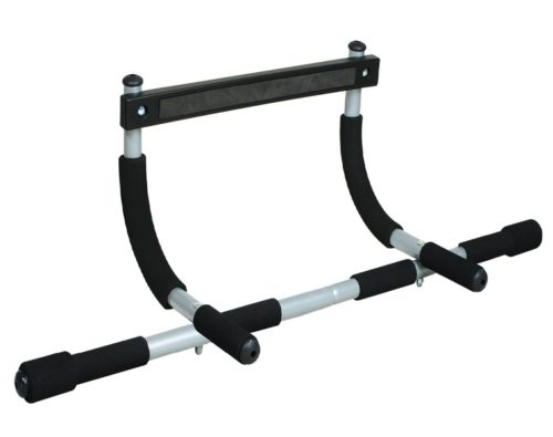 1. Iron Gym Chin Up Total Upper Body Workout Portable Pull Up Bar