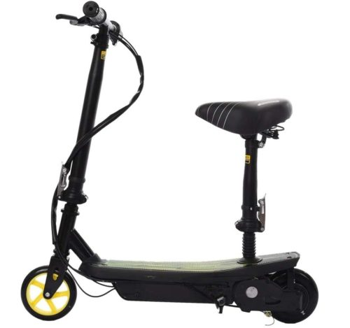 10. Adjustable Folding Rechargeable Electric Scooters with Seat for Adults