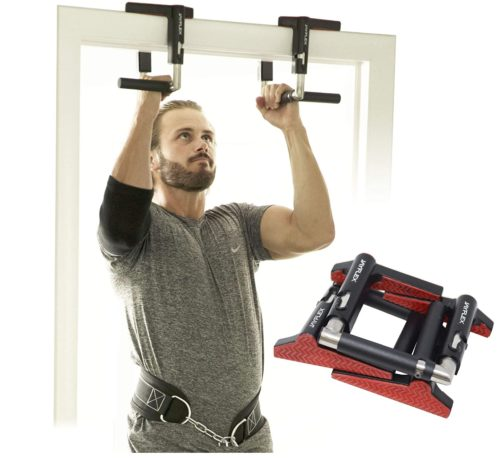 10. CrossGrips Portable Pull Up Bar Handles for Upper Body Exercise