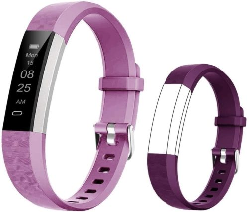 12. BIGGERFIVE Kids Fitness Tracker Watch with Calorie Monitor and Pedometer