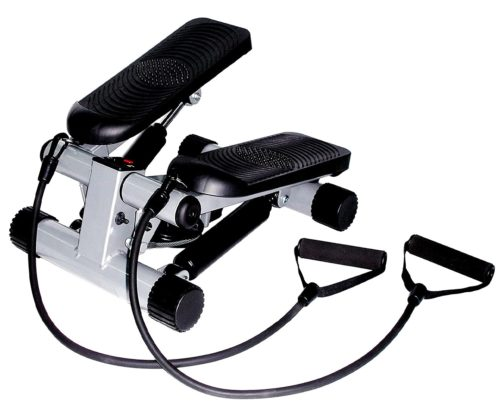 12. Sunny Health & Fitness Mini Stepper with LCD Controler and Resistance Bands