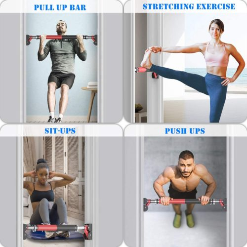 13. ANXEN Chin Up Fram Fitness Perfect Doorway Portable Pull Up Bars Workout Equipment for Home Gym