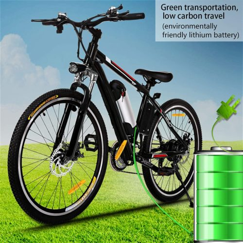 13. Kemanner Best Electric Bike with 36V 8A Lithium Battery for Adult