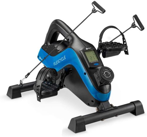 14. LifePro Mini Exercise Bike with LCD Monitor - Exercise Peddler Under Desk Bike for Home and Office
