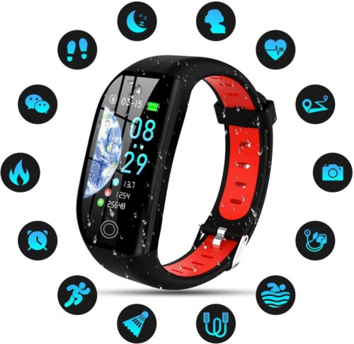 15. SEPVER IP68 Waterproof Kids Fitness Tracker with Heart Rate Monitor