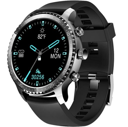 15. Tinwoo IOS and Android Bluetooth Smart Watches for Men with Wireless Charging