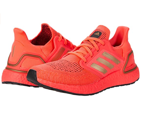 2. Adidas Trail Running Shoes Ultraboost - Women Red Running Shoes