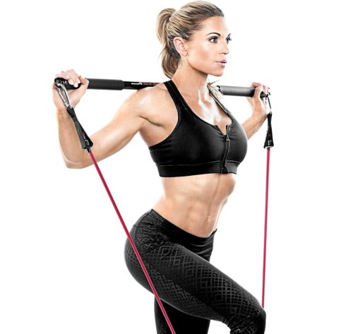 2. Bionic Body Workout Exercise Bar Lifting Training