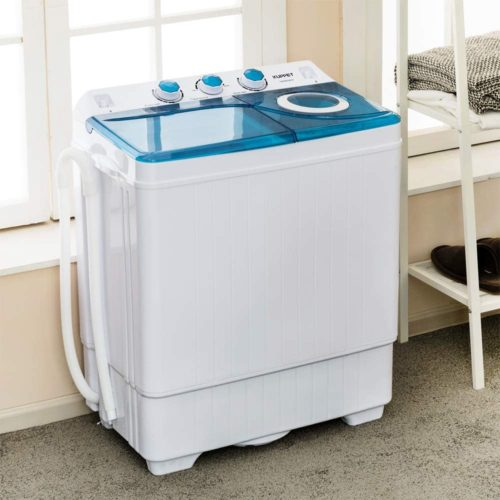 2. KUPPET Portable Washing Machine - Compact Portable Washer and Dryer
