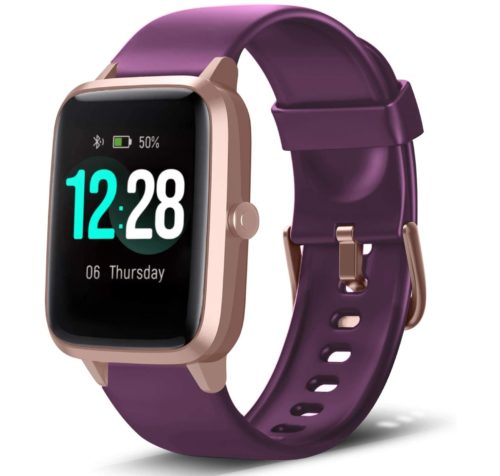 2. LETSCOM Kids Fitness Tracker with IP68 Water Resistant and Health Monitor