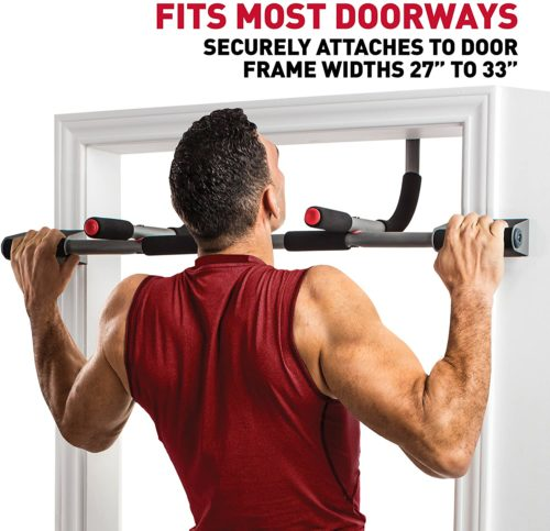 2. Perfect Fitness Doorway Portable Pull Up Bar