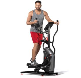 2. Schwinn Compact Elliptical Machine with Heart Rate and Digital System