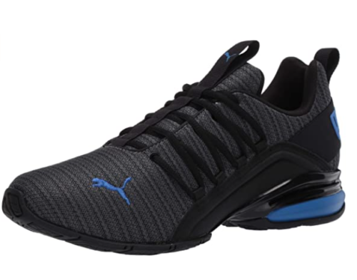 3. PUMA Black Running Shoes for Men with Axelion Ridge Cross-Trainer