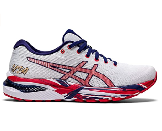 4. ASICS Women Gel-Cumulus Red Running Shoes