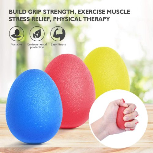4. Peradix Stress Relief Hand Holding Ball for Kid and Adult - Best Hand Exerciser Ball for Finger Strengthen