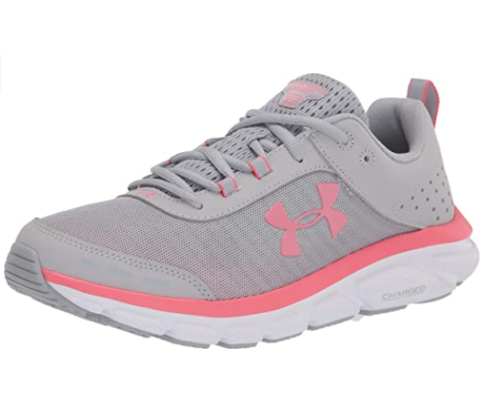 4. Under Armour Charged Assert Girls Running Shoe for Bad Knees