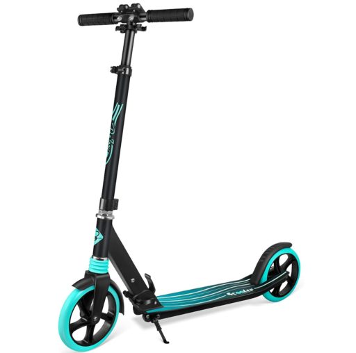 5. BELEEV 2 Wheel Scooter for Kids and Adult with Quick Release Folding System and Shock Absorption Mechanism