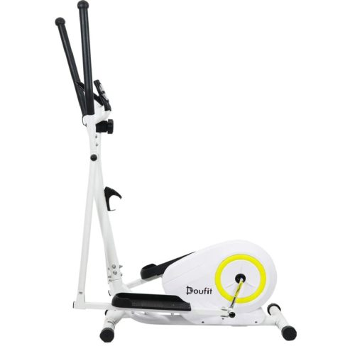 5. Doufit Compact Elliptical Machine Exercise with LCD Monitor - Best Portable Elliptical Aerobic Exercise for Home Use