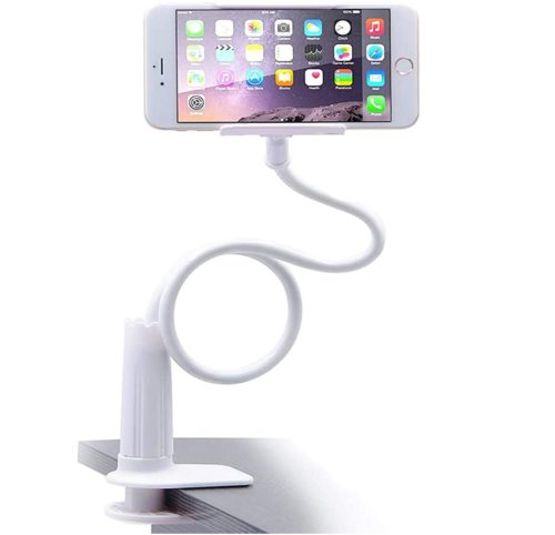 5. Madipea Phone Holder for Bed with Flexible Long Arm