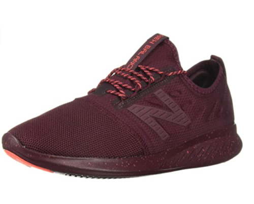 5. New Balance Women Red Running Shoes