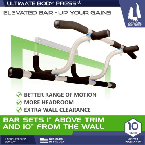 5. Ultimate Body Press Adjustable Portable Pull Up Bar