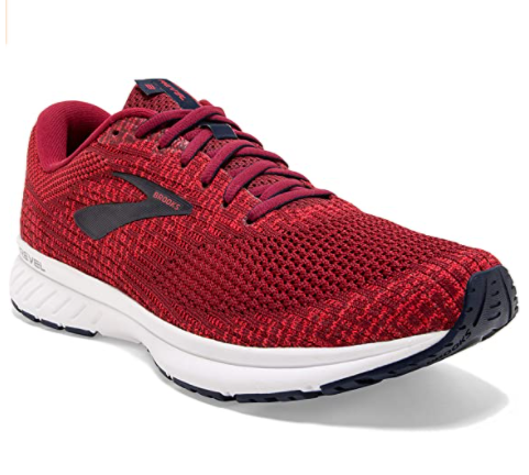 6. Brook Trail Running Shoes - Best Red Running Shoes