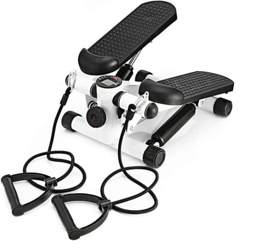 6. Outtive Portable Twist Stair Mini Stepper Machine Fitness Exercise with LCD Display and Comfortable Foot Pedals System