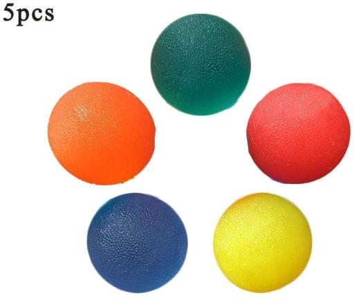 7. Busy Mom Gel Squeeze Hand Exercise Ball with Muscles Arthritis Grip Finger Strengthen and Resistance Therapy