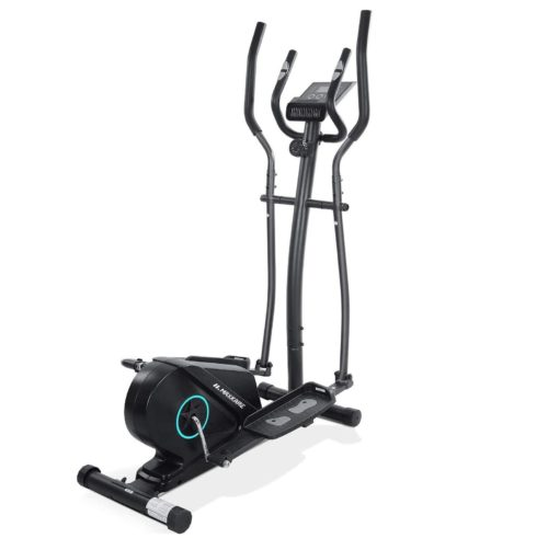 7. MaxKare Compact Elliptical Machine for Gym with Flywheel and Pedal with LCD Monitor