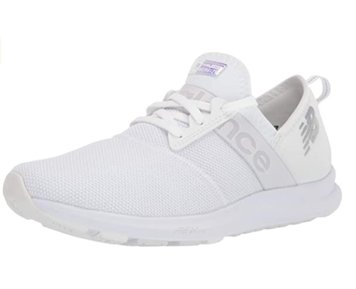 7. New Balance Girls White Running Shoes for Bad Knees