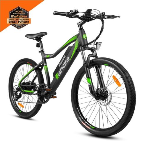 7. eAhora Powerful Mountain Electric Bike with Stainless Aluminum Frame