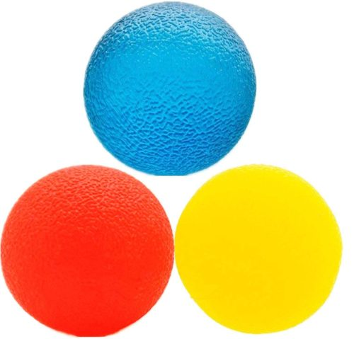 8. Ailive Stress Relief Hand Exercise Ball for Finger Strengthen with Multiple Resistance Therapy