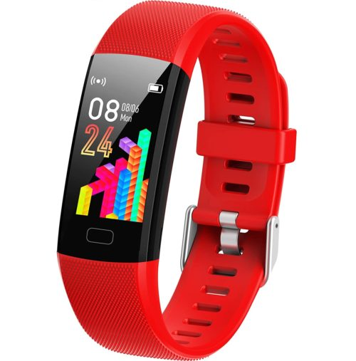 8. Inspiratek Kids Fitness Tracker with Health Tools and IP68 Waterproof
