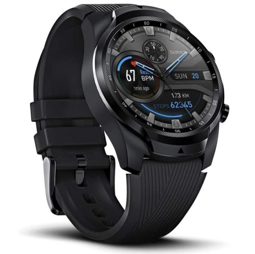 8. TicWatch Pro LTE Cellular Bluetooth Smart Watch