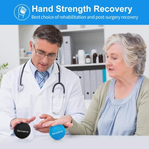 9. Penzance Hand Exercise Ball for Physical Rehabilitation Finger Strengthen